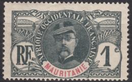 N° 1 - X - - Mauritanie (1906-1944)