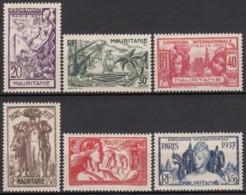 Du N° 66 Au N° 71 - X - ( C 1451 ) - Mauritanie (1906-1944)