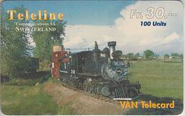 SWITZERLAND - PHONE CARD - TAXCARD ***   PRÉPAID  TELELINE & TRAIN  *** - Schweiz