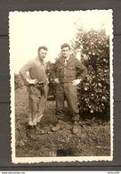 MILITARIA PHOTO ORIGINALE 3 JANVIER 1958 à La MARADE ALGÉRIE - ARME MILITAIRES SOLDATS - Guerra, Militari