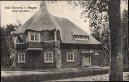 Cp Bergen Nordholland Niederlande, Park Meerwijk, Huize Boschkant - Nederland