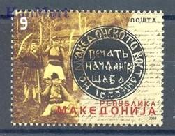 Macedonia 2003 Mi 299 MNH ( ZE2 MCD299 ) - Histoire
