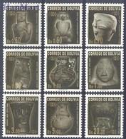 Bolivia 2000 Mi 1443-1451 MNH ( ZS3 BLV1443-1451 ) - Archéologie