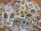 LOT 250 GRAMMES TIMBRES COLLECTION ILES BRITANNIQUES  JERSEY - Briefmarken