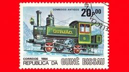 GUINEA BISSAU - 1984 - Treni - Ferrovie - Locomotive - Gurjao No. 6 - 20 - Guinea-Bissau