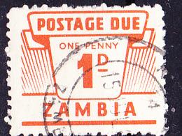 Sambia Zambia - Portomarke/taxe  (Mi.Nr.:PM 1) 1964 - Gest Used Obl - Zambia (1965-...)