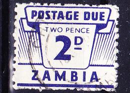 Sambia Zambia - Portomarke/taxe  (Mi.Nr.:PM 2) 1964 - Gest Used Obl - Zambia (1965-...)