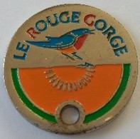 Jeton De Caddie - LE ROUGE GORGE - En Métal - - Jetons De Caddies