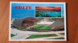 Split Spalato Hajduk  Stadium Postcard Cartolina Stadio Stadion AK Carte Postale CP Stade Estadio - Calcio