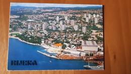 Rijeka Kantrida  Stadium Postcard Cartolina Stadio Stadion AK Carte Postale CP Stade Estadio - Calcio