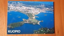 Kuopio Stadium Postcard Cartolina Stadio Stadion AK Carte Postale CP Stade Estadio - Calcio