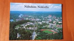 Nokialla Nokia Matkailu Stadium Postcard Cartolina Stadio Stadion AK Carte Postale CP Stade Estadio - Calcio