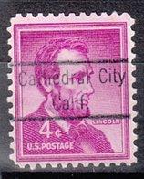 USA Precancel Vorausentwertung Preo, Locals California, Cathedral City 823 - Etats-Unis