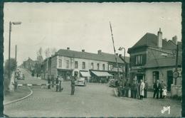 59 NORD JEUMONT La Douane BELGE BP Animé Voyagée 1953 TB. - Jeumont