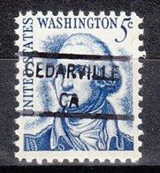 USA Precancel Vorausentwertung Preo, Locals California, Cedarville 841 - Vereinigte Staaten