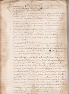 Gen Montauban 28 Fev 1717 Eaux Et Forets Commenge St Gaudens Foret D'Alan 12 Scans - Cachets Généralité