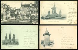 Lot De 20 Cartes Postales De France  Seine - Maritime  Rouen    Lot Van 20 Postkaarten Van Frankrijk ( 76 ) - 20 Scans - Postkaarten