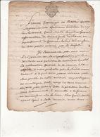 Gen Auch 16 Mai 1783 Eaux Et Forets Concerne Les Habitants De Couledous Le Portet 2 Scans - Cachets Généralité