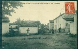 69 RHONE La Chapelle De Quincieux ,rue Principale Animée TB. - Andere Gemeenten