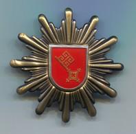 Bremen Polizei, Federal Police Germany, Metal Insignia, Cap Badge, D 50 Mm - Police