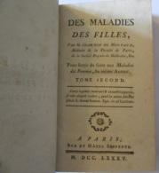 Livre Ancien - Des Maladies Des Filles Tome Second Par M. Chambon De Montaux - 1785 - Livres, BD, Revues