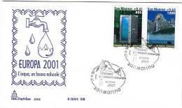 PGL BG023 - SAN MARINO SASSONE N°1799/800 FDC - FDC