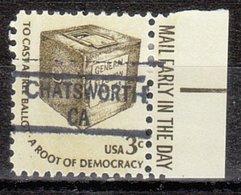 USA Precancel Vorausentwertung Preo, Locals California, Chatsworth 841 - Vereinigte Staaten