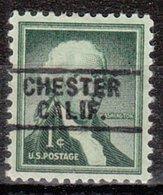 USA Precancel Vorausentwertung Preo, Locals California, Chester 745 - Vereinigte Staaten