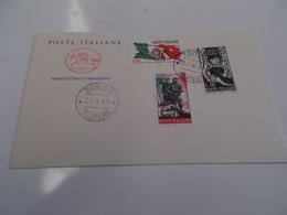 B710  Italia Repubblica Busta Affrancatura Serie Resistenza Italiana - F.D.C.