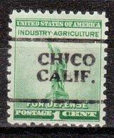 USA Precancel Vorausentwertung Preo, Locals California, Chico 701 - Etats-Unis