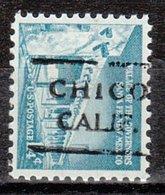 USA Precancel Vorausentwertung Preo, Locals California, Chico 715 - Etats-Unis