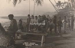 Malaysia  PENANG  Malay  Children At Morning Prayers RP  Pg329 - Malaysia