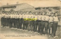 44 St Sébastien, La Cambronnaise, Section Adultes, Lauréate à Tours En 1924, Carte Pas Courante - Saint-Sébastien-sur-Loire