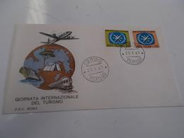 B710  F.d.c. Giornata Internazionale Del Turismo - F.D.C.