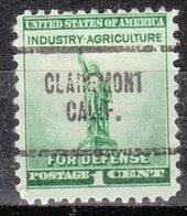 USA Precancel Vorausentwertung Preo, Locals California, Claremont 704 - Vereinigte Staaten