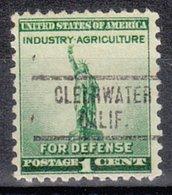 USA Precancel Vorausentwertung Preo, Locals California, Clearwater 734 - Vorausentwertungen