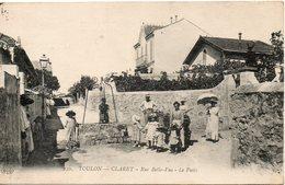 CLARET RUE BELLE VUE LE PUITS - Toulon