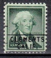 USA Precancel Vorausentwertung Preo, Locals California, Clements 745 - Etats-Unis