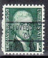 USA Precancel Vorausentwertung Preo, Locals California, Cloverdale 841 - Vorausentwertungen