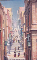 Malte Strada Santa Lucia éditeur Raphael Tuck & Sons Oilette N°7568 - Malta