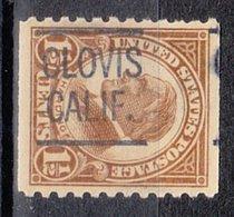 USA Precancel Vorausentwertung Preo, Locals California, Clovis 582-L-1 HS - Vereinigte Staaten