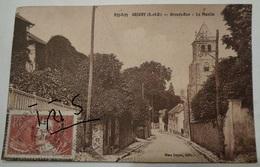 CPA-B134 - GRIGNY - GRANDE-RUE - LA MONTEE - Grigny