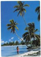 Tahiti Fille Sur La Plage - Tahiti