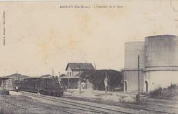 ANDILLY  Intérieur De La Gare - France