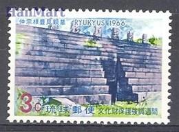 Riukiu 1966 Mi 178 MNH ( ZS9 RKI178 ) - Archéologie