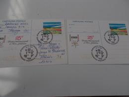 B710  2 Cartoline Postali Asiago - Italia