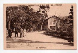 - CPA MARSEILLE (13) - Maison De Retraite Des Cheminots - La Terrasse - Photo Audry - - Marseille