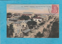 Cambodge. - Tonkin - Haïphong - Boulevard Paul Bert - Vue Générale. - Cambodia