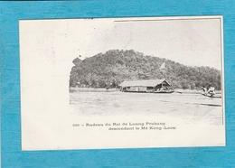 Cambodge. - Radeau Du Roi De Luang Prabang Descendant Le Mé Kong - Laos. - Cambodja