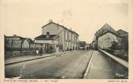 DOULAINCOURT - Rue Pougny (carte Vendue En L'état). - Doulaincourt